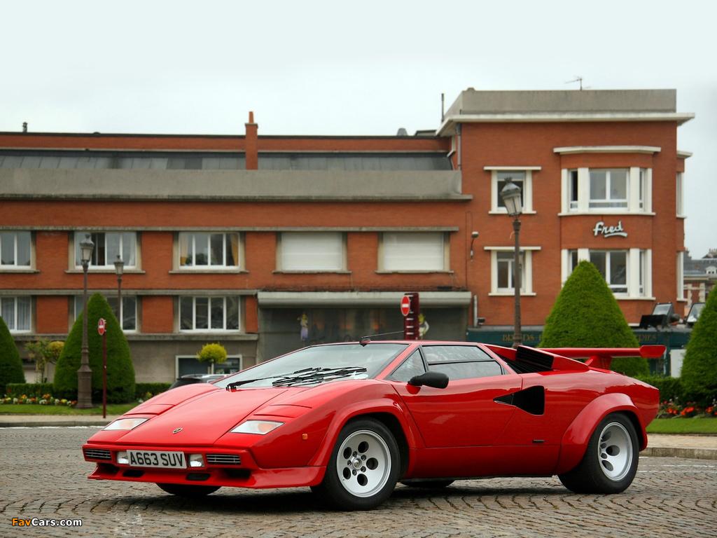 Lamborghini Countach Lp5000 S Quattrovalvole 1985 89