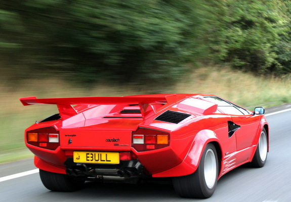 Lamborghini Countach Lp5000 Quattrovalvole Uk Spec 1988 Images