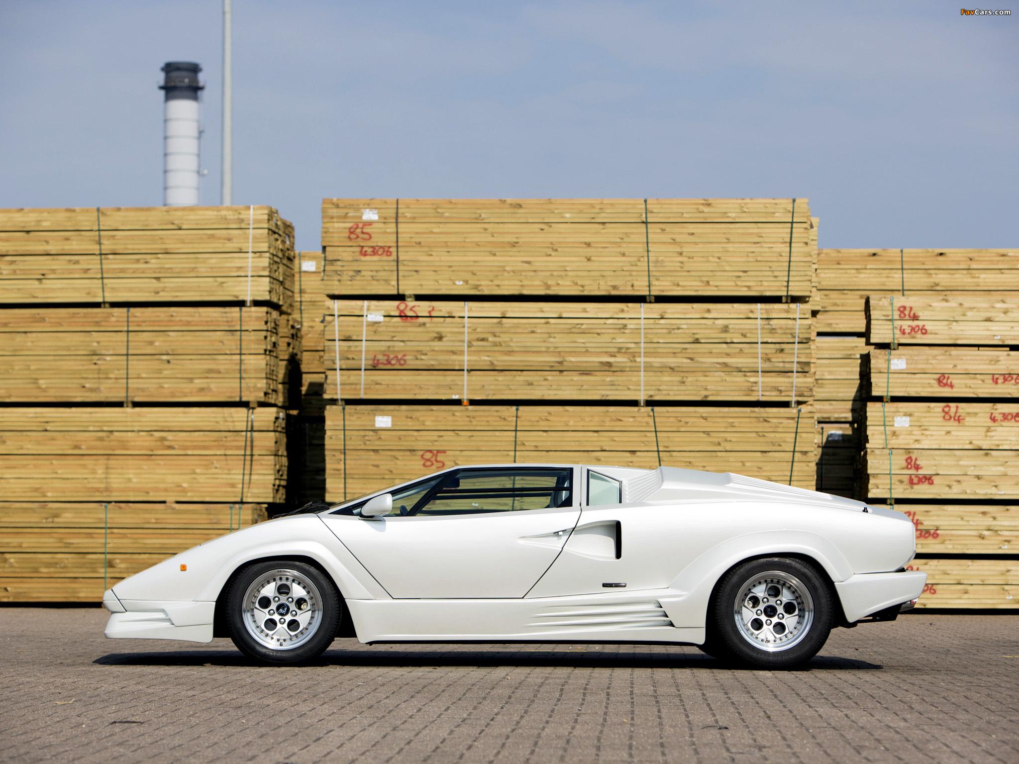 lamborghini_countach_1988_images_5 Elegant Lamborghini Countach 25th Anniversary Specs Cars Trend