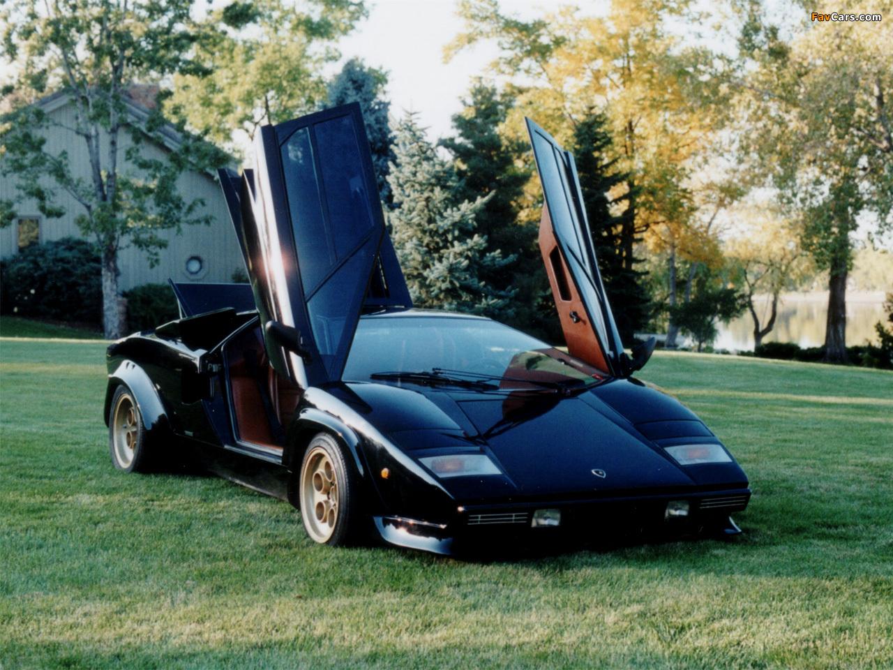 Lamborghini Countach Wallpapers 1280x960