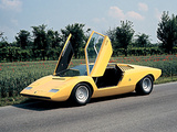 Photos of Lamborghini Countach LP500 Prototype 1971