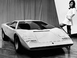 Photos of Lamborghini Countach LP500 Concept 1971