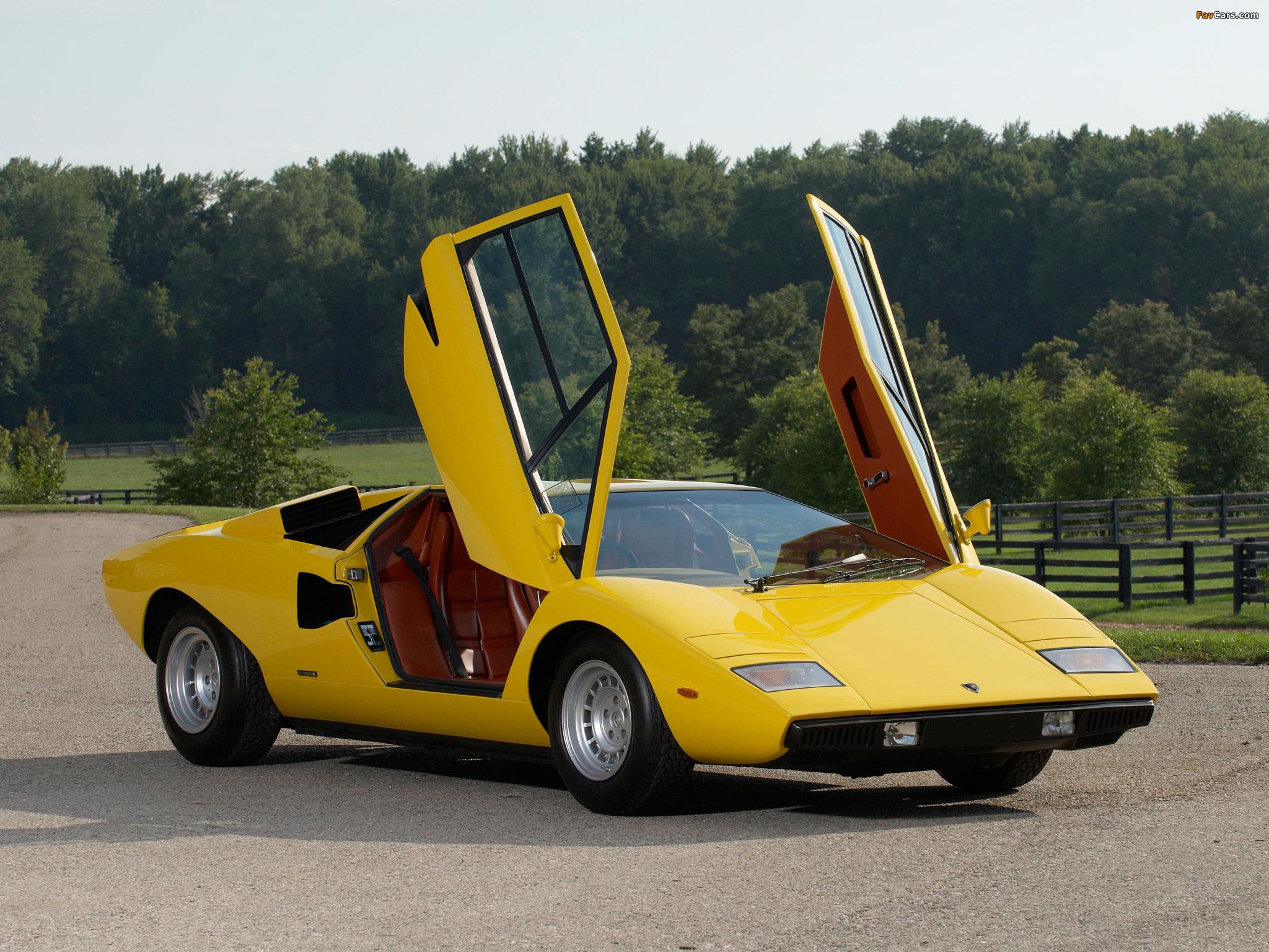 Photos Of Lamborghini Countach Lp400 Uk Spec 1974 78