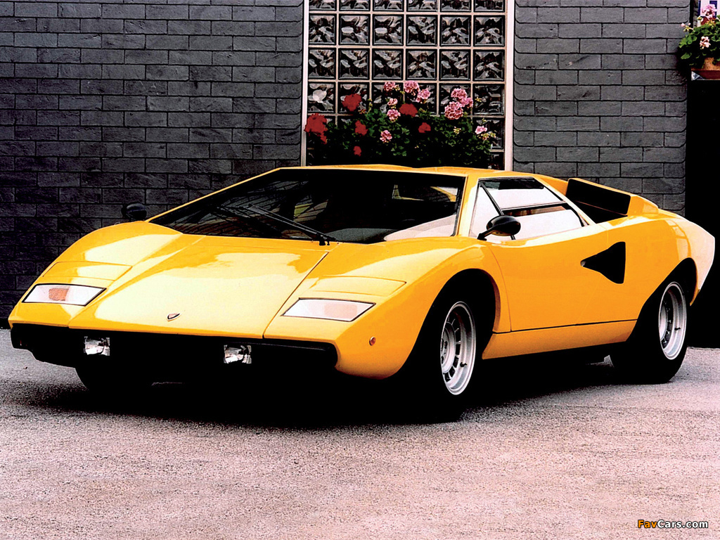 Photos Of Lamborghini Countach Lp400 1974 78 1024x768