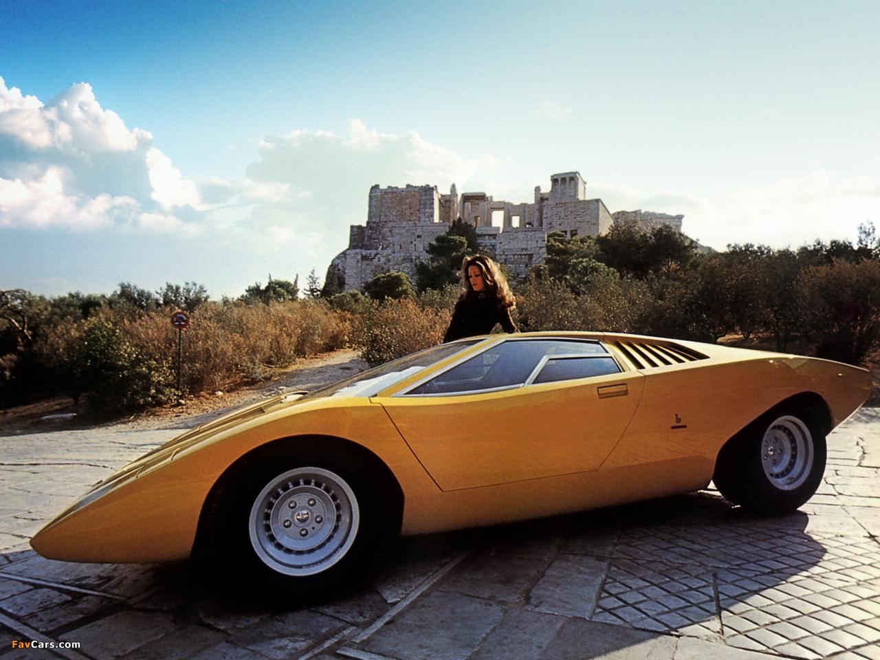 Pictures Of Lamborghini Countach Lp500 Concept 1971 1280x960
