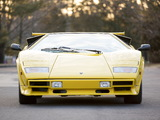 Pictures of Lamborghini Countach LP5000 S Quattrovalvole North America 1987–88