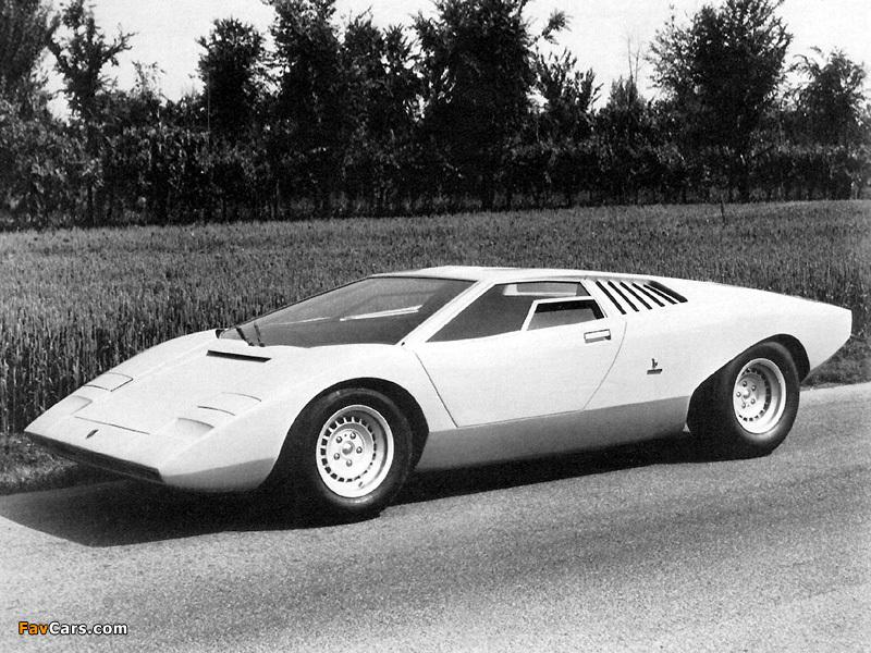 Lamborghini Countach Lp500 Prototype 1971 Wallpapers 800x600