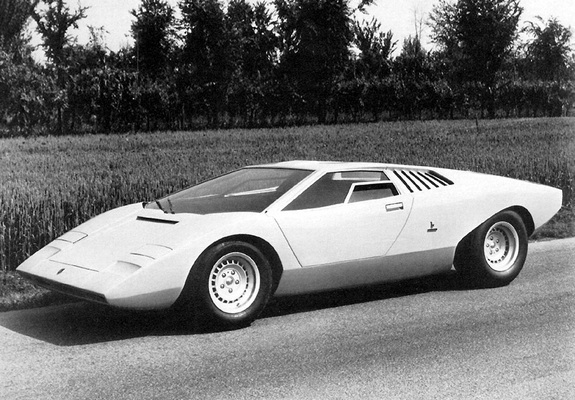 Lamborghini Countach Lp500 Prototype 1971 Wallpapers