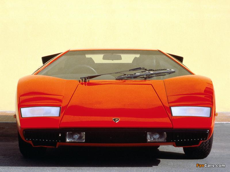 Lamborghini Countach Lp400 1974 78 Wallpapers 800x600