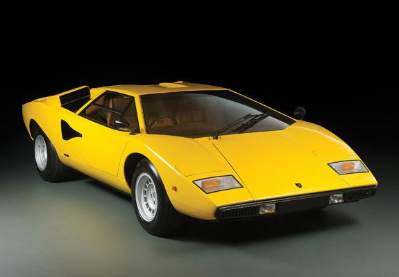Lamborghini Countach LP400 UK-spec 1974–78 wallpapers