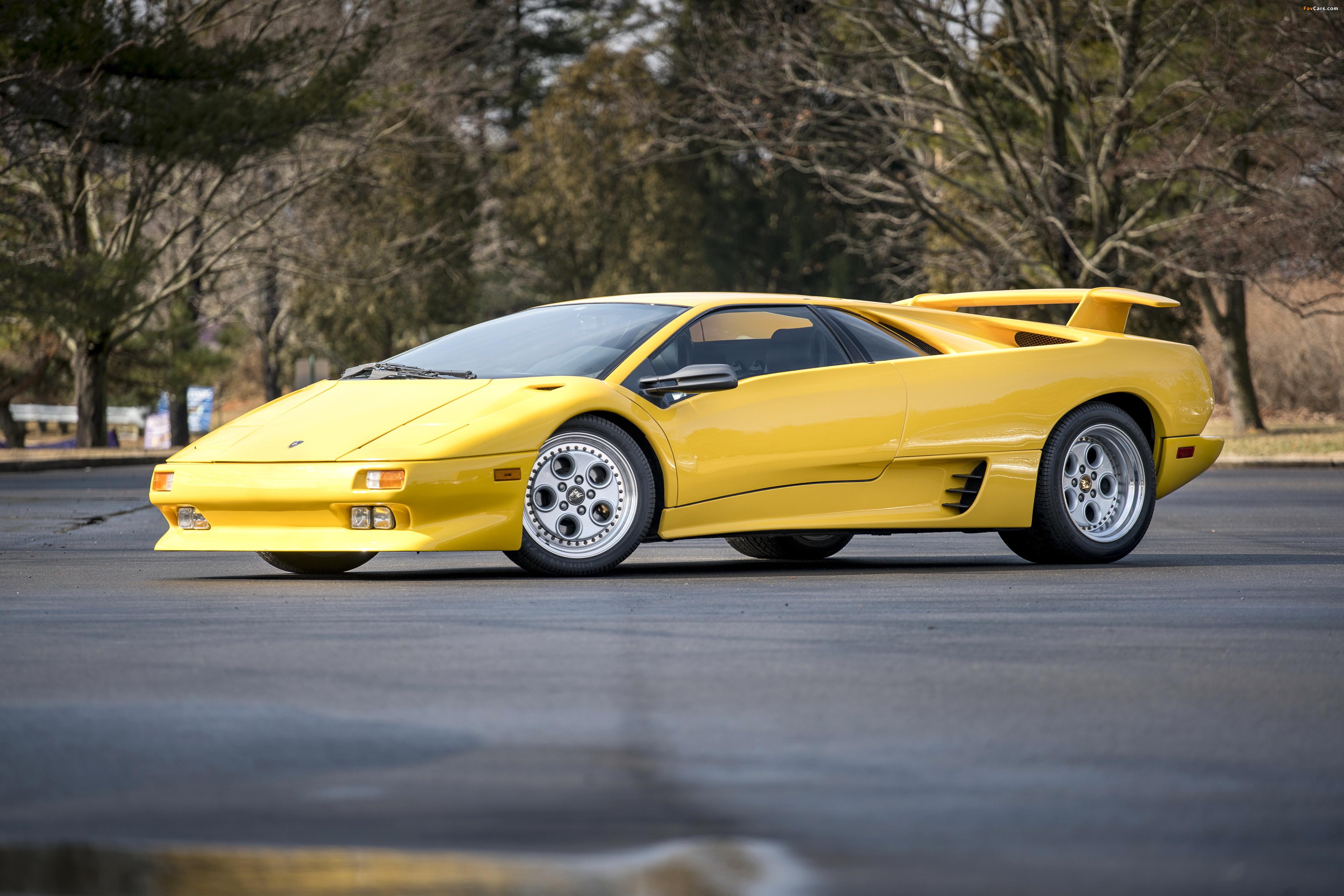 Lamborghini Diablo North America 1990–93 images (3872 x 2583)