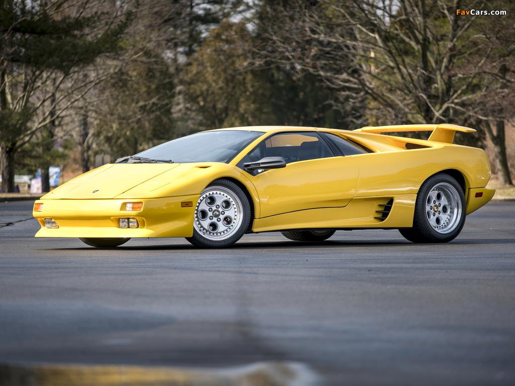 Lamborghini Diablo North America 1990–93 images (1024 x 768)
