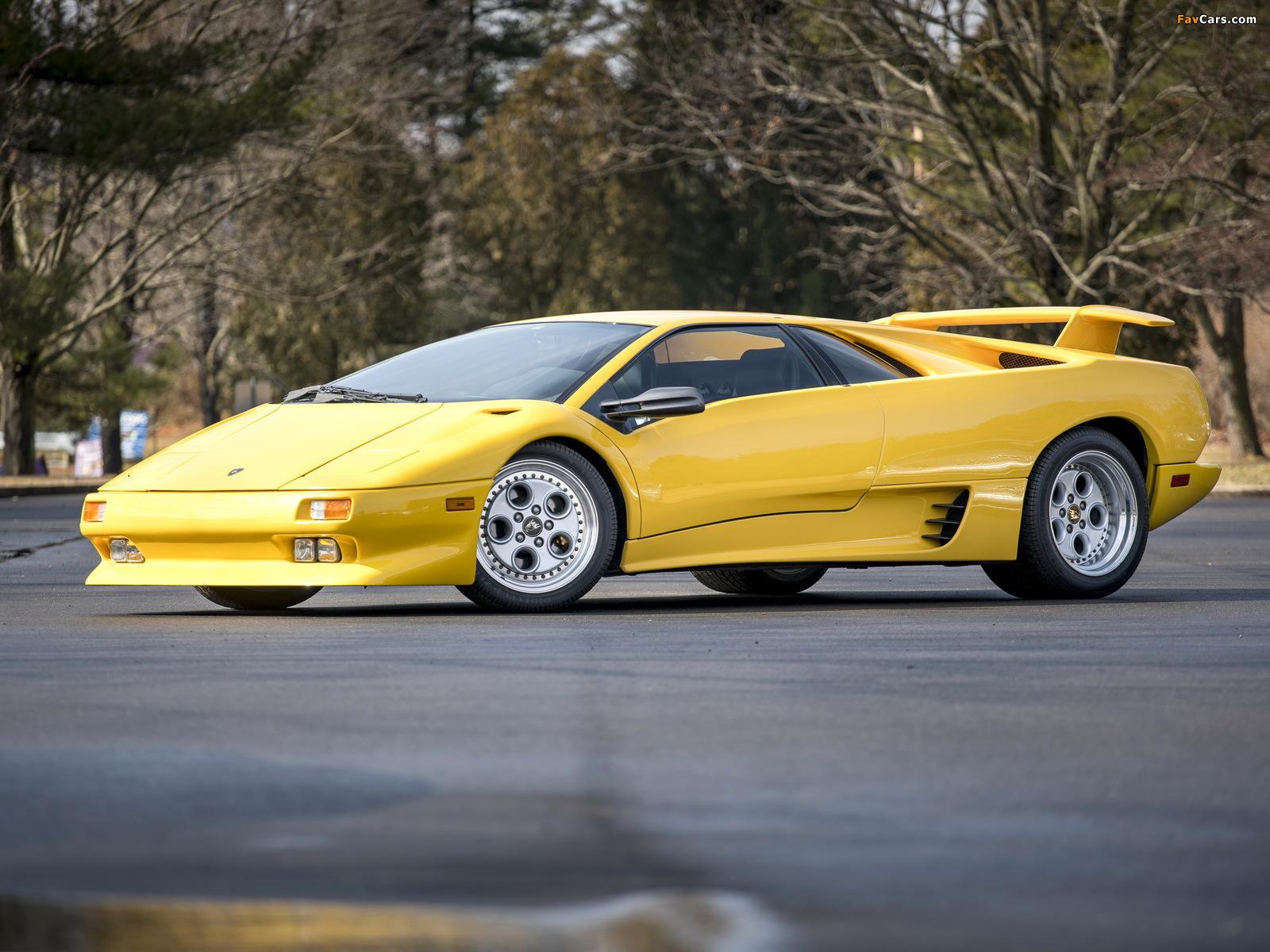 Lamborghini Diablo North America 1990–93 images (1600 x 1200)