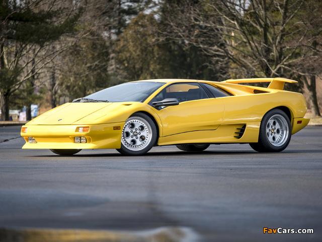 Lamborghini Diablo North America 1990–93 images (640 x 480)