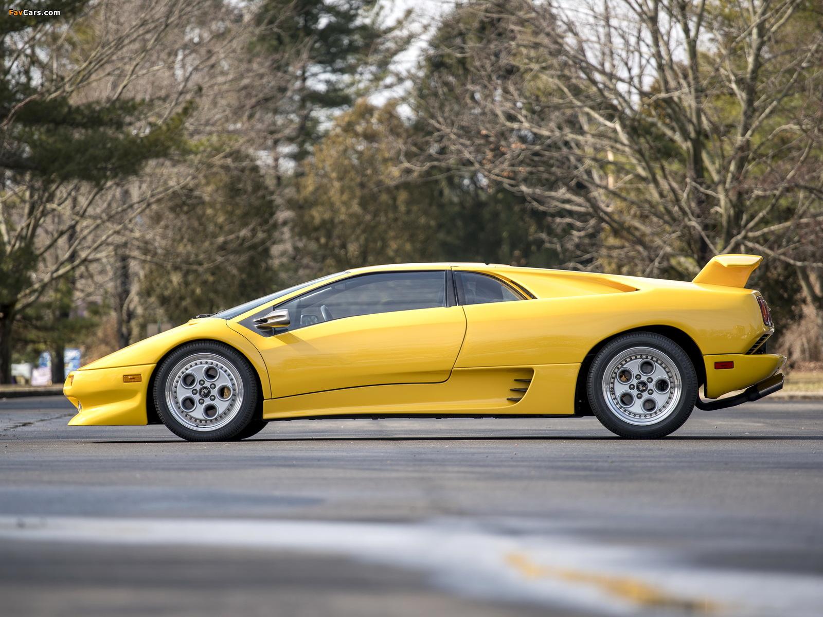 Lamborghini Diablo North America 1990–93 photos (1600 x 1200)