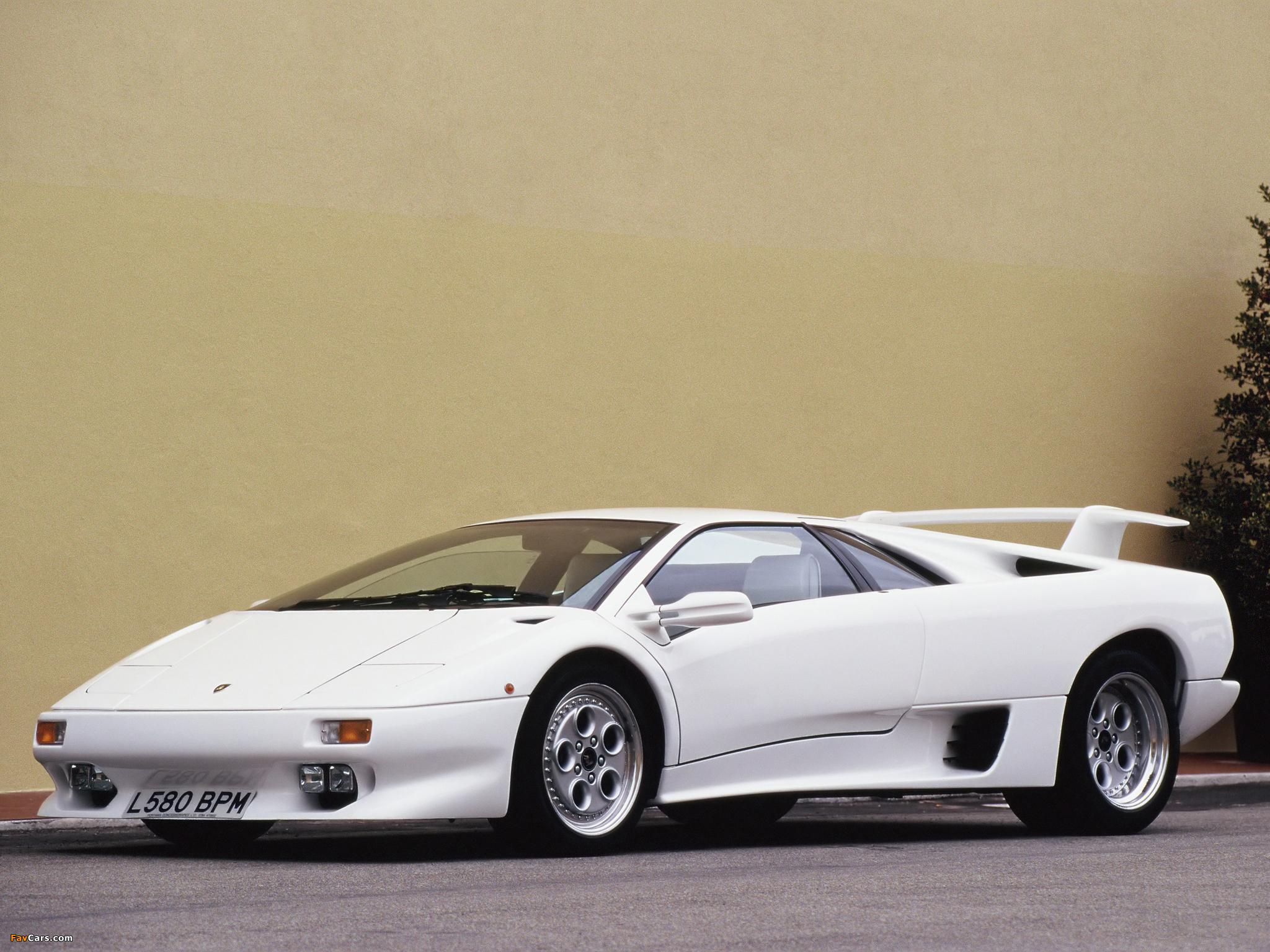 Lamborghini Diablo 1990 94 Pictures