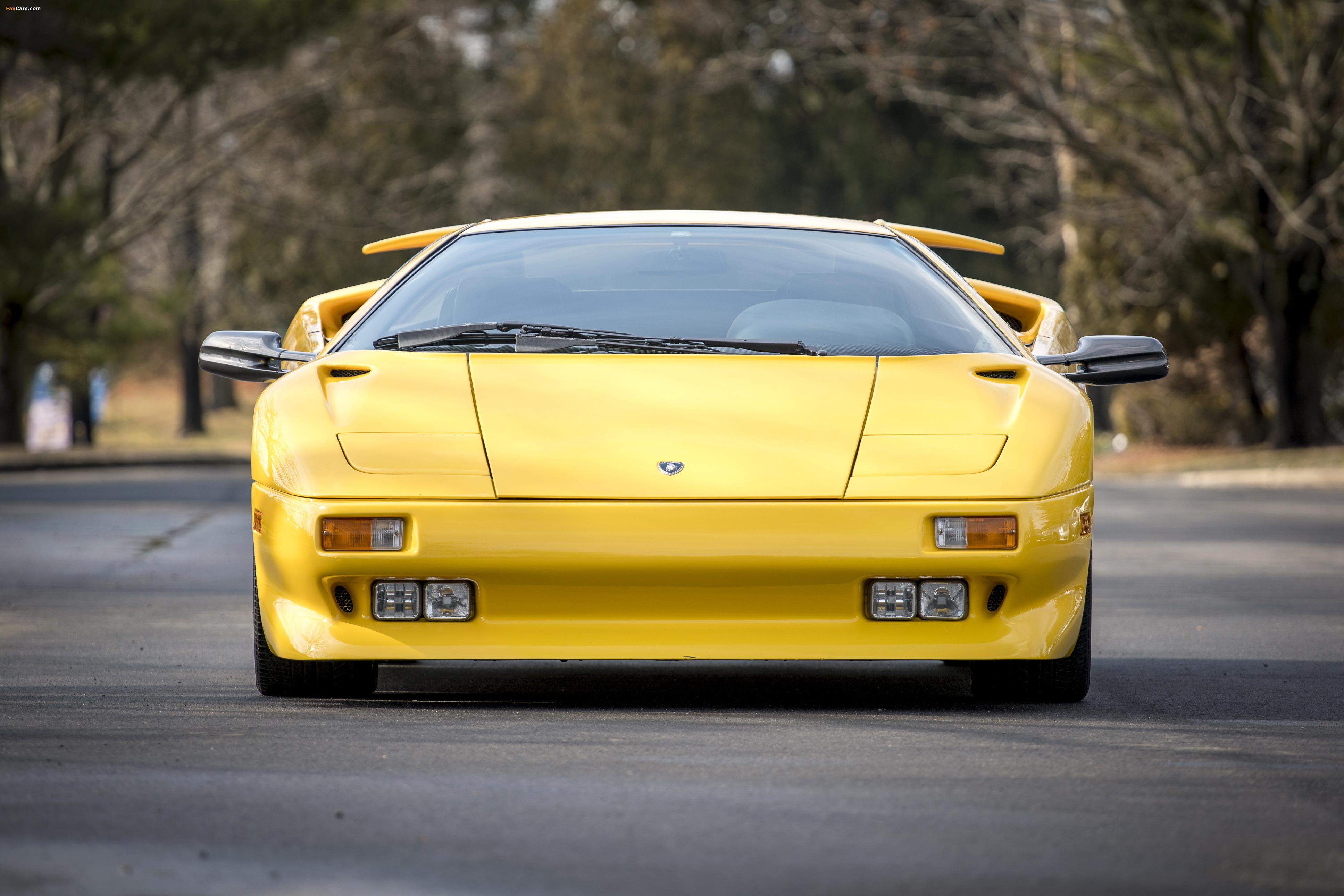 Lamborghini Diablo North America 1990–93 wallpapers (3871 x 2582)