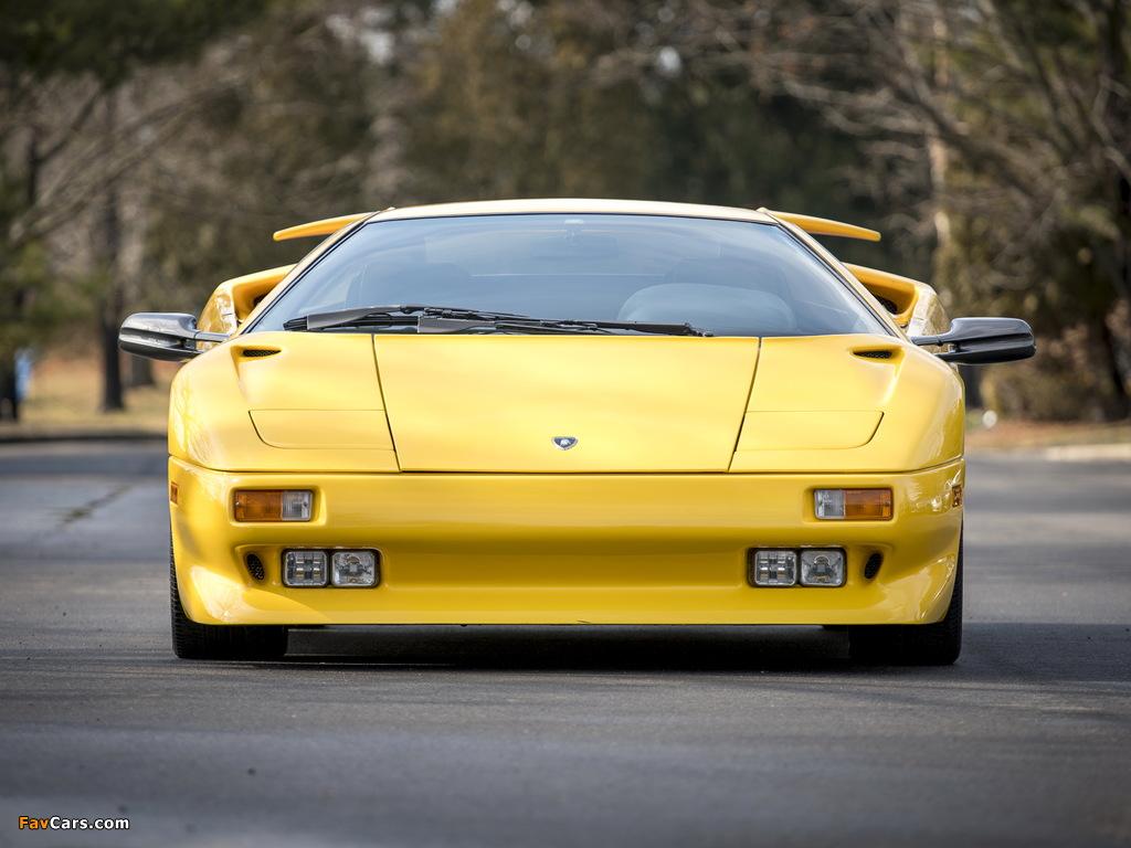 Lamborghini Diablo North America 1990–93 wallpapers (1024 x 768)