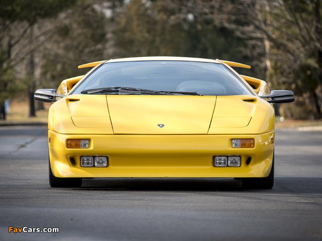 Lamborghini Diablo North America 1990–93 wallpapers (640 x 480)