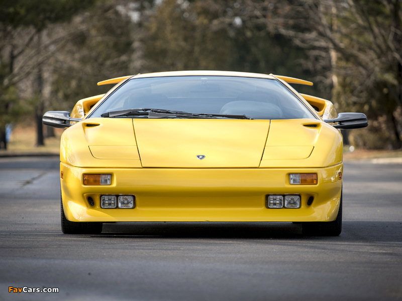 Lamborghini Diablo North America 1990–93 wallpapers (800 x 600)