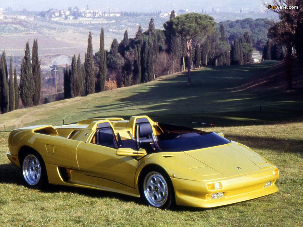 Lamborghini Diablo Roadster Prototype 1992 Photos 1024x768