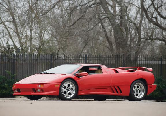 Lamborghini Diablo Vt Roadster Ver 1 1995 98 Wallpapers