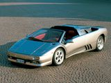 Lamborghini Diablo VT Roadster 1995–98 wallpapers