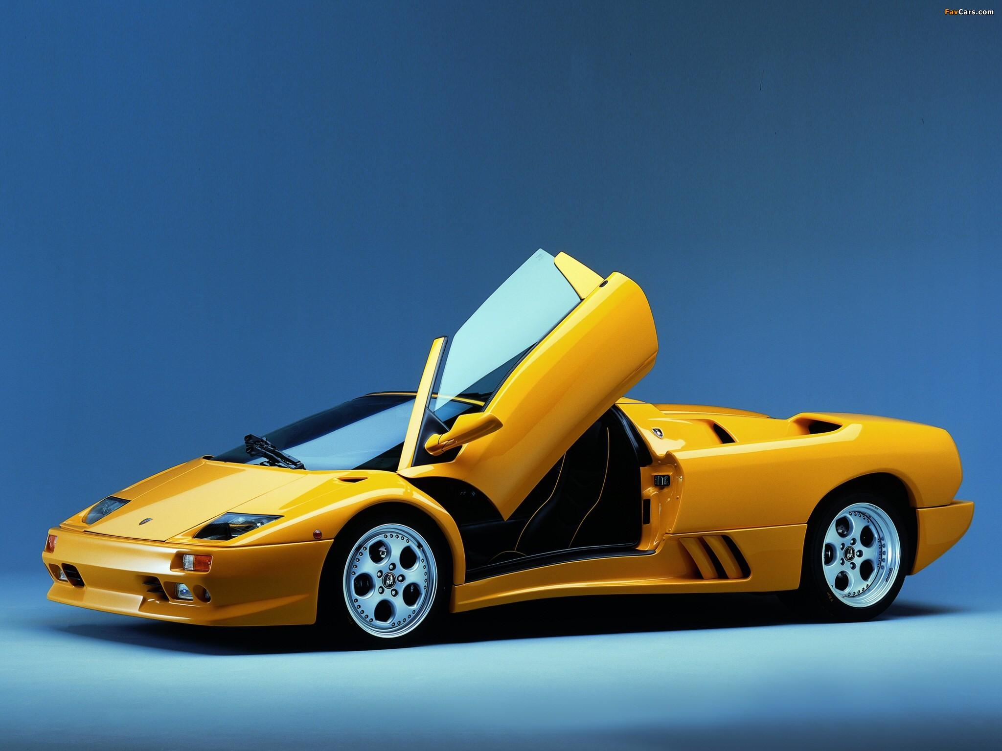 Lamborghini Diablo Vt Roadster Ver  Wallpapers  X