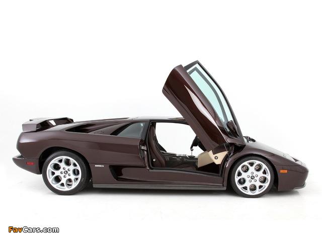 Lamborghini Diablo VT 6.0 SE 2001 photos (640 x 480)