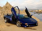 Photos of Lamborghini Diablo SV Monterey Edition 1998