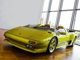 Lamborghini Diablo Roadster Prototype 1992 wallpapers
