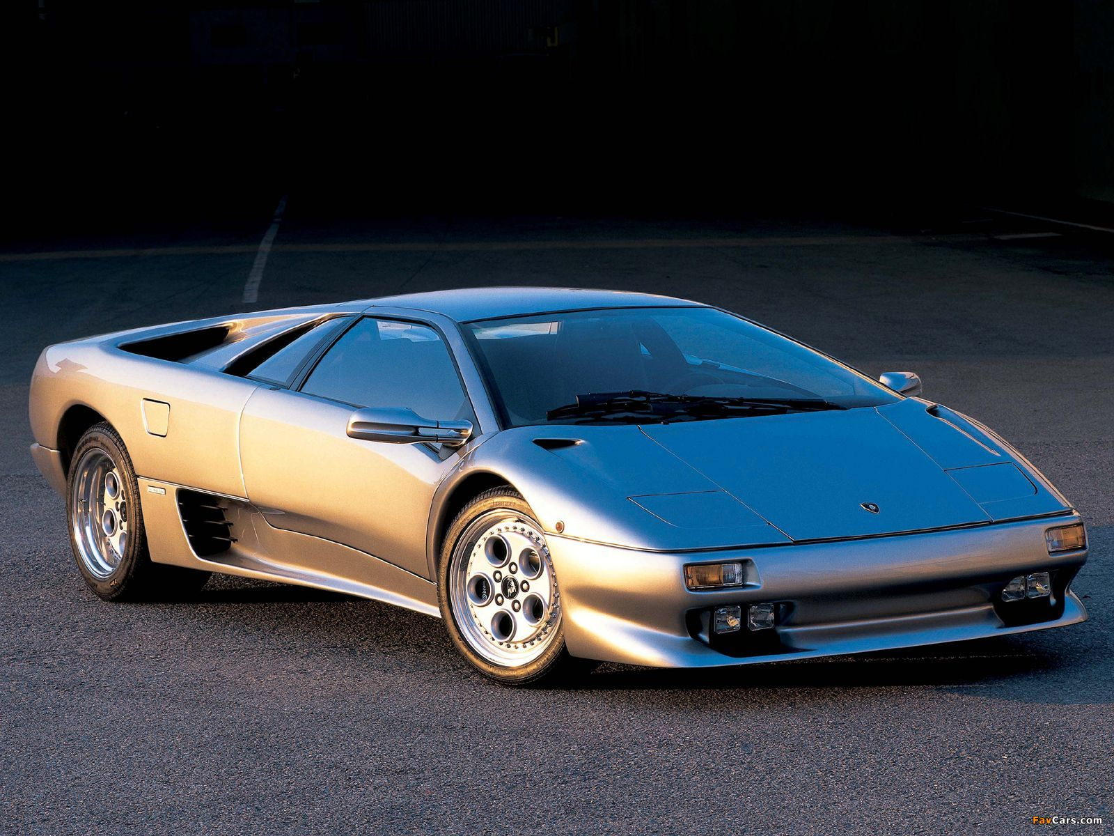 Lamborghini Diablo Vt Ver 1 1993 98 Wallpapers 1600x1200