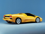 Lamborghini Diablo VT Roadster 1998–2000 wallpapers