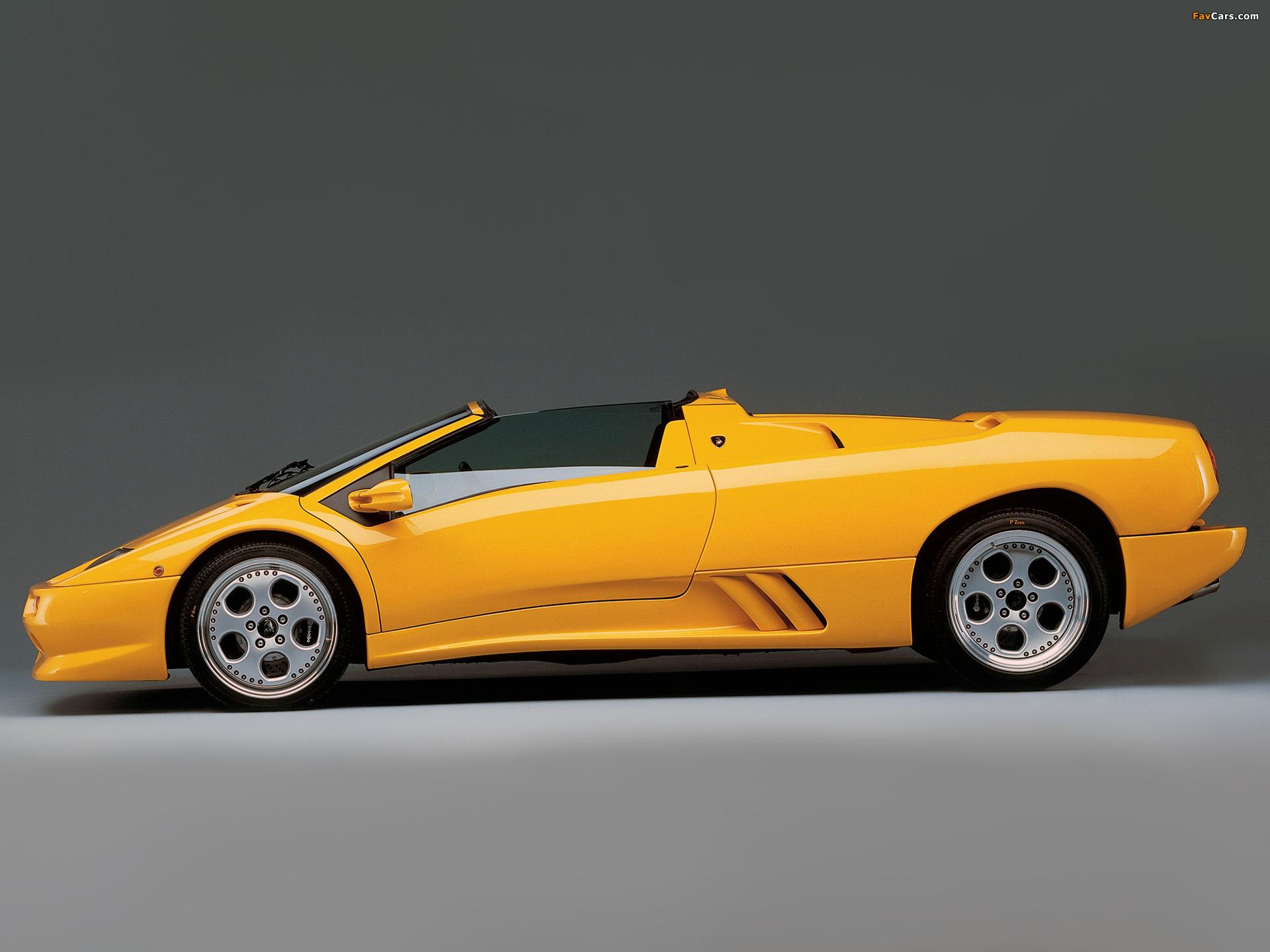 Lamborghini Diablo Vt Roadster Ver 2 1999 2000