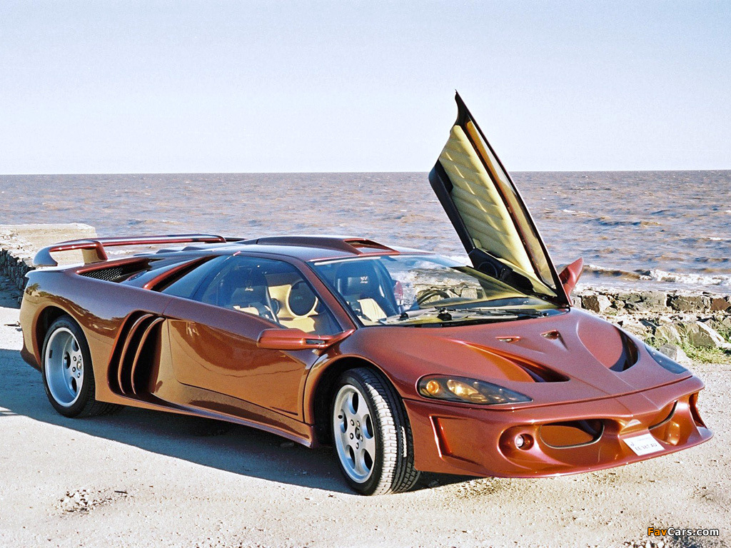 Lamborghini Diablo Coatl 2000 Wallpapers 1024x768