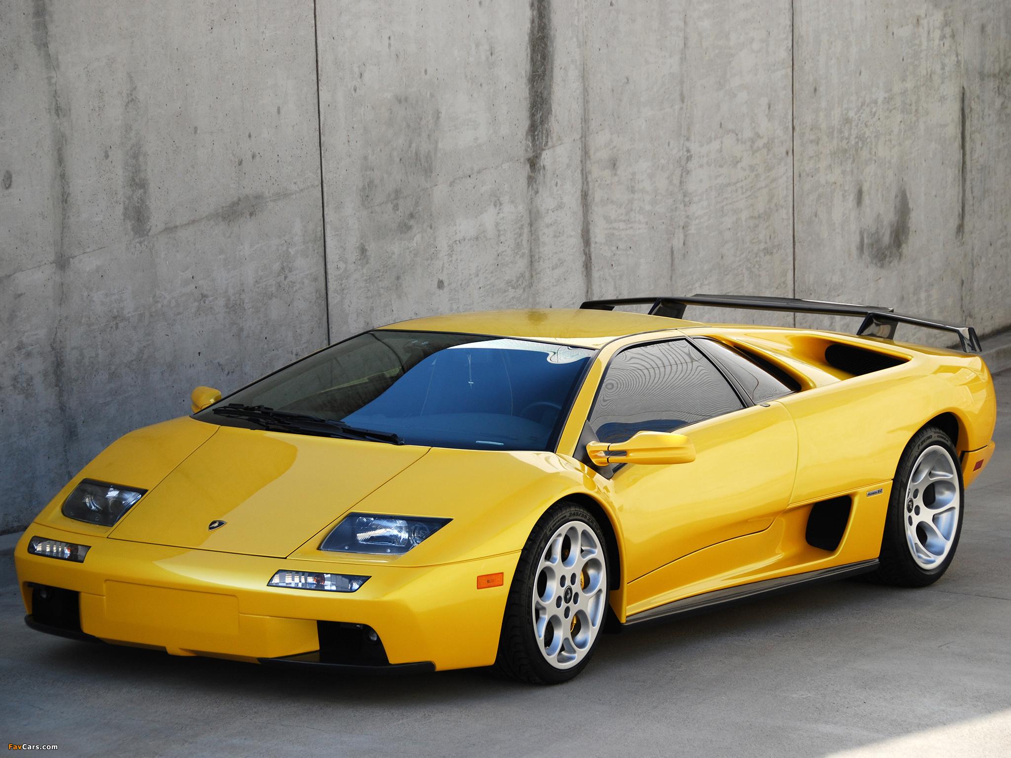 Lamborghini Diablo Vt 6 0 2000 01 Wallpapers 2048x1536