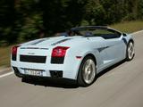 Images of Lamborghini Gallardo Spyder 2006–08