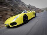 Images of Lamborghini Gallardo LP560-4 Spyder 2008