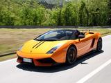 Images of Lamborghini Gallardo LP 570-4 Spyder Performante 2010–13
