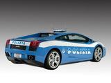 Lamborghini Gallardo Polizia 2004 images