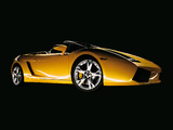 Lamborghini Gallardo Spyder 2006–08 images