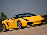 Lamborghini Gallardo Spyder US-spec 2006–08 photos