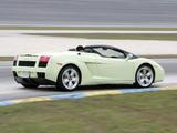 Lamborghini Gallardo Spyder US-spec 2006–08 pictures