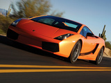 Lamborghini Gallardo Superleggera 2007–08 wallpapers