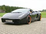 Edo Competition Lamborghini Gallardo Spyder 2007–08 wallpapers