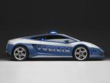 Lamborghini Gallardo LP 560-4 Polizia 2008–12 photos
