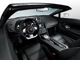 Lamborghini Gallardo LP 560-4 Spyder 2008–12 wallpapers