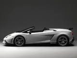 Lamborghini Gallardo LP 570-4 Spyder Performante 2010–13 photos