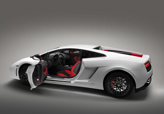 Lamborghini Gallardo Lp 560 4 Bianco Rosso 2012 Images
