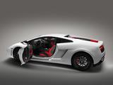 Lamborghini Gallardo LP 560-4 Bianco Rosso 2012 images